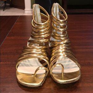 christian louboutin gradiator sandals